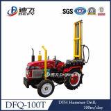 移動式トラクターによって取付けられる水掘削装置