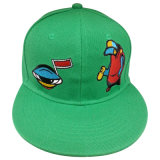 Изготовленный на заказ бейсбольная кепка Snapback с Applique Gjfp17164