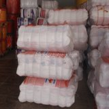 Orange 50*80 Embalagens Raschel sacos de malha de vegetais