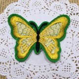 Patch de borboletas de moda bordados rendas para roupa