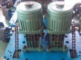 Elektrisches einziehbares schiebendes Fabrikstoraluminium