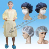 使い捨て可能なPE/PP+PE/CPE/SMS/PP Medical GownかSurgical Gown/Isolation Gown