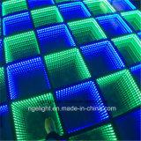 DMX 3D 미러 LED 디스코 DJ 바 당 사건 빛을%s 휴대용 댄스 플로워