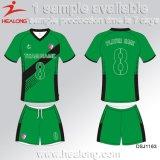 Healong Entwerfer-Farben-Sublimation-Fußball Jersey mit Qualität