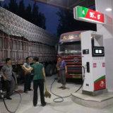 Distributeur de carburant de buses doubles - quatre écrans LCD - deux débitmètres