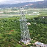 Zelfstandige GSM Telecommunicatie 4 Legged Hoekige Gegalvaniseerde Toren van het Staal