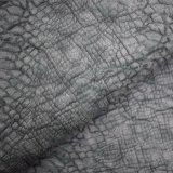 Matt-Krokodil-Haut-Oberfläche künstliches PU-Leder, Beutel-Leder