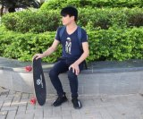 [جكب] لوح طويلة يغيّر بالغ [إ] 4 عجلات لوح التزلج كهربائيّة