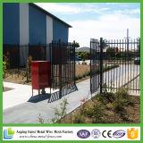 Clôture tubulaire standard en acier d'Australie / Clôture en acier / clôture métallique / clôture métallique