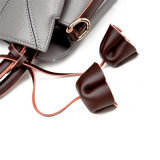 형식 꽃 술 PU 가죽 어깨에 매는 가방 여자 운반물 핸드백