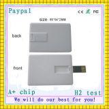 64GB 크레딧 USB 카드 (GC-C016)에 승진 선물 로고 인쇄 1GB