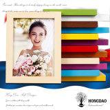 Marco de madera colorido de encargo Wholesale_L de la foto de Hongdao