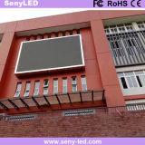 Tablilla de anuncios al aire libre de LED de SMD P6 para el anuncio video comercial