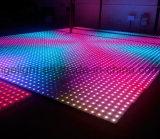 RGB portable LED Digital Dance Floor para el partido/la boda del acontecimiento