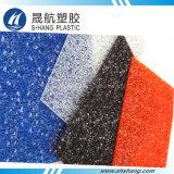 2017 Bestselling feuille gaufré de diamants en polycarbonate solide