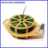 pequeño alambre galvanizado 0.1lb de la bobina para el supermercado