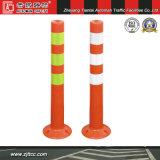 Avertissement de sécurité en plastique orange réfléchissante Post (CC-E03)