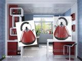 aço inoxidável electrodomésticos Cordless chaleira eléctrica com Garantia de um ano