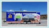 Les chariots mobiles mangent la grande remorque de nourriture de guichet de ventes