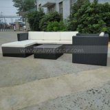 Weidenrattan Kd Schnittaufenthaltsraum-Sofa-gesetzter Garten-im Freienmöbel (MTC-283)