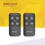 Sistema di obbligazione Emergency personale anziano senza fili domestico astuto dell'impianto antifurto di GSM SOS del tasto di panico di Wolfguard 3G 4G 2g 868 433MHz