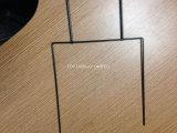 Держатель рамы Corflute H стиле/Индивидуальные гофрированного картона пластмассовые во дворе знак газон с H рамы