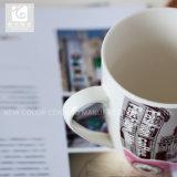 الصين يقدّم مصنع مباشرة مع [كستيمزد] تصميم يمتلك علامة تجاريّة هبة خزفيّ شاش إبريق 14 [أز] [كفّ موغ] يشرب إبريق