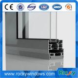 Fabrication de porte et de guichet d'alliage d'aluminium \ profil en aluminium de porte coulissante