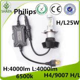 ベストセラーのフィリップスH4 4000lm G7自動LEDのヘッドライト