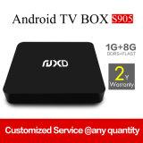 Quad Core Full HD 1080 / 4k Boîte de télévision Android de haute qualité