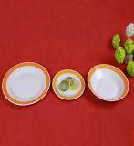 Plaque de dîner en céramique réglée de vaisselle en céramique de la vaisselle 20PCS de fournisseur de la Chine