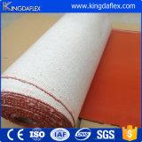 Manche / tuyau de protection en fibre de verre à étiquetage en caoutchouc silicone