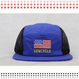 カスタムキャンプデザインロゴ5のパネルの帽子