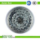 El acero revestido de aluminio del conductor de aluminio refuerza el alambre ACSR