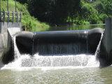 Waterpower industriel gonflent le barrage en caoutchouc