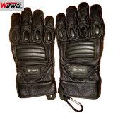 Qualitäts-lederne Militärpolizei-taktische Handschuhe