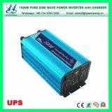 UPS 12/24V onda senoidal pura 1500W Inversor de Energia Solar com 15um carregador (QW-P1500UPS)