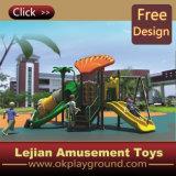 CE plastique multi fonction Kids Terrain de jeux extérieur