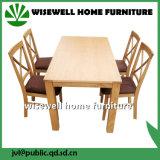 食堂はセットした標準的な木の食堂の家具(W-DF-9035)を