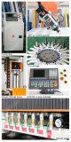 4 máquina de gravura do CNC do preço, do ATC do router 2050 do CNC da linha central, com o eixo refrigerar da ferramenta de Caousel e de ar de 9kw Hsd