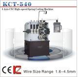 Kct-540 5 ressort de compression de commande numérique par ordinateur de l'axe 4mm enroulant le pot tournant de Machine&Spring