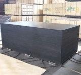 la película del álamo negro de 15X1220X2440m m hizo frente a la madera contrachapada para la construcción