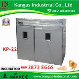 CE de la volaille agréés pour les oiseaux de la machine d'incubation de poulet / / / Canard Goose / Turquie (KP-22)