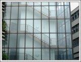 6+6A+6 Niedriges-e Isolierglas/Doulbe glasig-glänzendes Glas