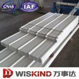 Lamiera di acciaio prefabbricata ondulata per la costruzione d'acciaio della parete