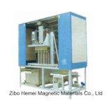 大量の材料を処理するためのぬれた自動磁気分離器