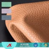 숙녀 부대 만들기를 위한 Lichee 돋을새김된 패턴을%s 가진 1.2mm 환경 PVC 다채롭고 연약한 합성 물질 PU 가죽