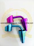 다채로운 못은 유리제 수관을%s 새로운 디자인 티타늄 못 왔다갔다 10/14/18 mm를 조정가능한 도매한다