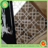 Вытравливание зеркала листа нержавеющей стали ног 304 SGS 4*8 для украшения стены