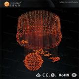 LED-Weihnachtslicht, Weihnachtslampe aus optischen Fasern hängende Chanderlier Beleuchtung (OM060)